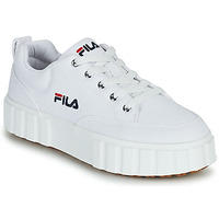 Shoes Women Low top trainers Fila SANDBLAST C WMN White