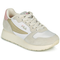 Shoes Women Low top trainers Fila RETROQUE WMN White / Beige / Pink