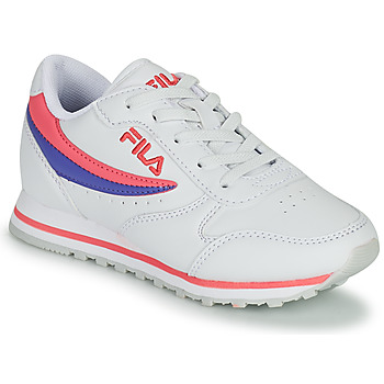 Shoes Girl Low top trainers Fila ORBIT LOW KIDS White / Pink
