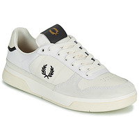 Shoes Men Low top trainers Fred Perry B300 White