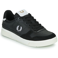 Shoes Men Low top trainers Fred Perry B300 Black