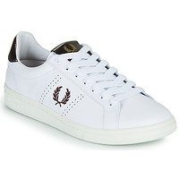 Shoes Men Low top trainers Fred Perry B721 White