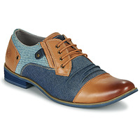 Shoes Men Derby Shoes Kdopa NOUMEA Camel / Blue