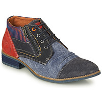 Shoes Men Mid boots Kdopa PEROTTI Blue / Red