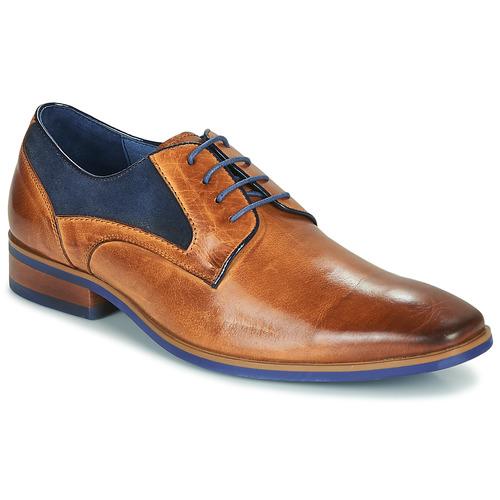 Shoes Men Derby Shoes Kdopa CONNOR Camel / Blue