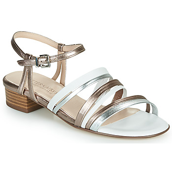 Shoes Women Sandals Peter Kaiser PATIA Bronze / White