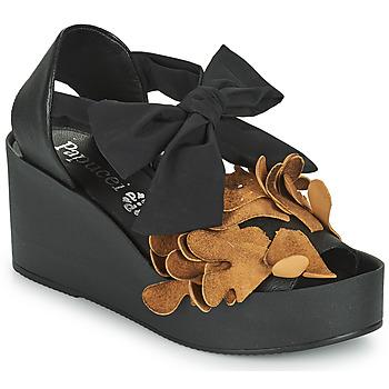 Shoes Women Sandals Papucei MAYA Black / Brown