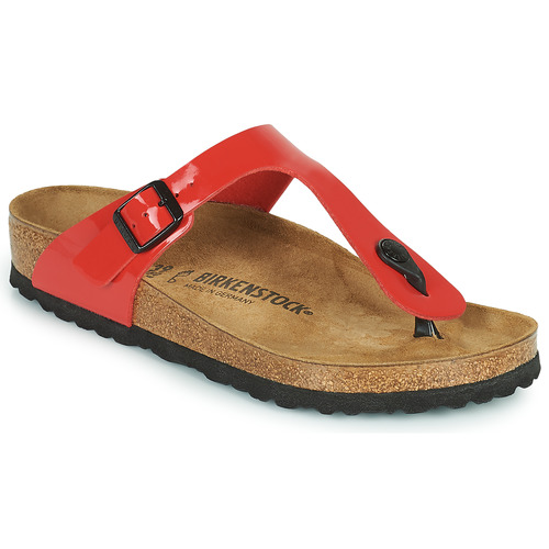 Shoes Women Flip flops Birkenstock GIZEH Red