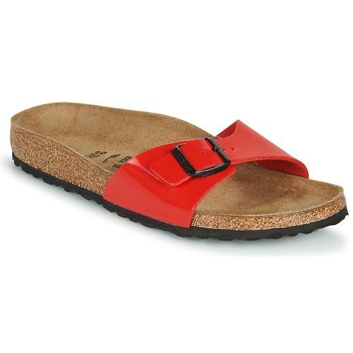 Shoes Women Mules Birkenstock MADRID Red