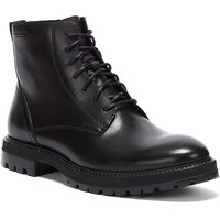 Shoes Men Mid boots Vagabond Shoemakers Johnny Lace-up Mens Black Boots Black