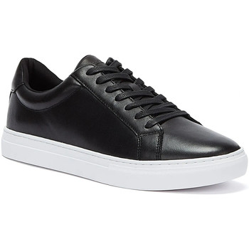 Shoes Men Low top trainers Vagabond Paul Mens Black / White Trainers Black