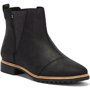 Shoes Women Ankle boots Toms Cleo Womens Black Boots Black