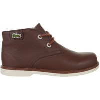 Shoes Children Mid boots Lacoste Sherbrook HI SB Spc Brown