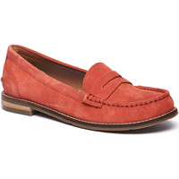 Shoes Women Loafers Woolovers Petrel Suede Loafers Orange
