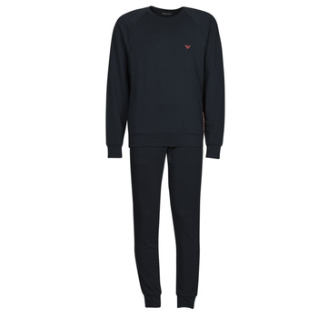 Clothing Men Tracksuits Emporio Armani STRETCH TERRY Marine