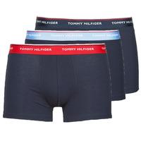 Underwear Men Boxer shorts Tommy Hilfiger TRUNK X3 Marine
