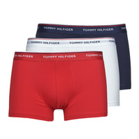 Underwear Men Boxer shorts Tommy Hilfiger TRUNK X3 White / Red / Marine