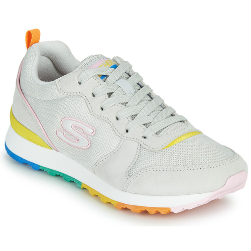 Shoes Women Low top trainers Skechers OG 85 White / Yellow