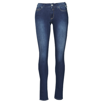Clothing Women Skinny jeans Replay NEW LUZ Blue / Medium