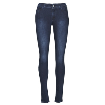 Clothing Women Skinny jeans Replay NEW LUZ Blue / Dark