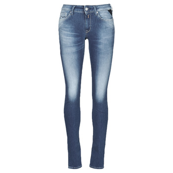 Clothing Women Skinny jeans Replay HYPERFLEX LUZ Blue / Medium