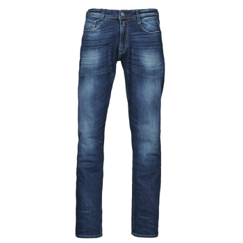 Clothing Men Straight jeans Replay ROCCO Pants Blue / Dark