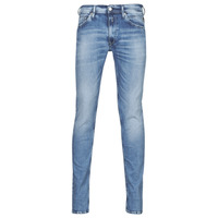 Clothing Men Skinny jeans Replay JONDRILL Pants Blue / Clear