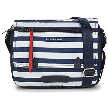 Bags Women Shoulder bags LANCASTER BASIC SPORT 25 Marine / White