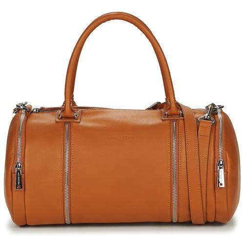Bags Women Small shoulder bags LANCASTER SOFT NAPPA 3 Camel