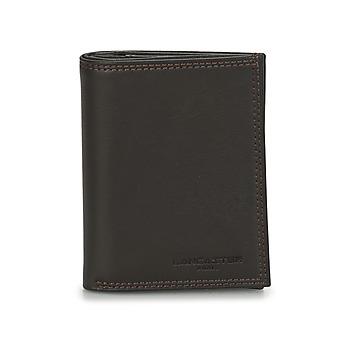 Bags Men Wallets LANCASTER SOFT VINTAGE HOMME 12 Brown