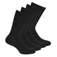 Shoe accessories Men Socks DIM MI CHAUSSETTE COTON X4 Black