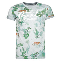 Clothing Men Short-sleeved t-shirts Deeluxe BALI Grey / Clear
