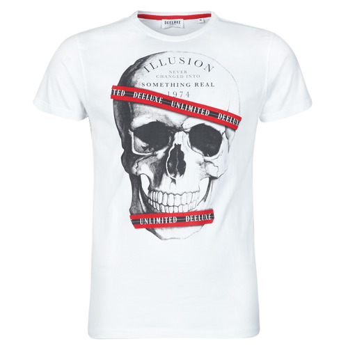 Clothing Men Short-sleeved t-shirts Deeluxe RUDY White