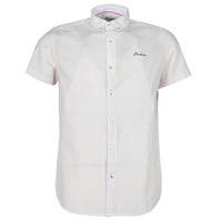 Clothing Men Short-sleeved shirts Deeluxe MIAO White