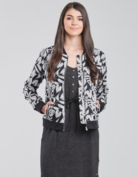 Clothing Women Jackets / Blazers Deeluxe TASSI Black / Grey