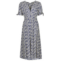 Clothing Women Long Dresses Deeluxe GLORIA Blue