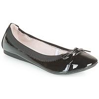 Shoes Women Flat shoes Moony Mood ELALA Varnish / Black