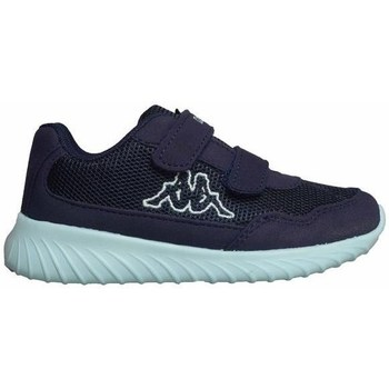 Shoes Boy Low top trainers Kappa Cracker II BC K Light blue, Navy blue