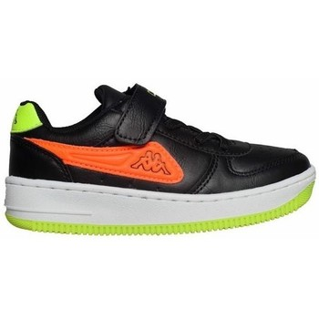 Shoes Children Low top trainers Kappa Bash PC K Black, Green, Orange