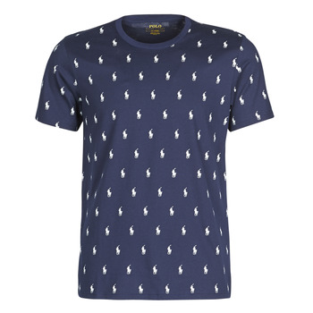 Clothing Men Short-sleeved t-shirts Polo Ralph Lauren CRUISE ALL OVER Marine