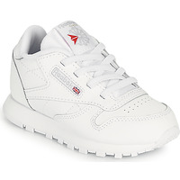 Shoes Children Low top trainers Reebok Classic CL LTHR White
