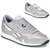Shoes Men Low top trainers Reebok Classic CL NYLON Grey / Blue
