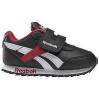 Shoes Children Low top trainers Reebok Sport Royal CL Jogger Black, Burgundy
