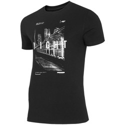 Clothing Men Short-sleeved t-shirts 4F TSM025 Black