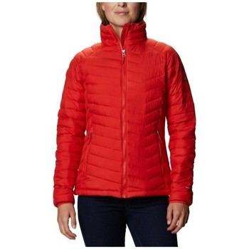 Clothing Women Duffel coats Columbia WM Powder Lite Jacket Red