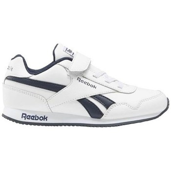 Shoes Children Low top trainers Reebok Sport Royal CL Jogger White,Navy blue