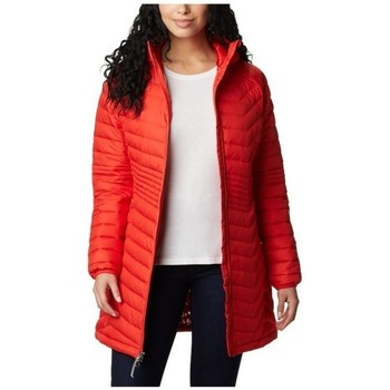 Clothing Women Duffel coats Columbia Powder Lite Mid Jacket Red