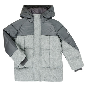 Clothing Boy Duffel coats Redskins  Black / Grey