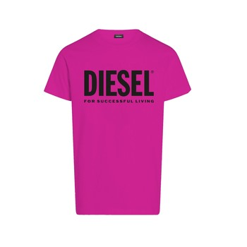 Clothing Girl Short-sleeved t-shirts Diesel TJUSTLOGO Pink