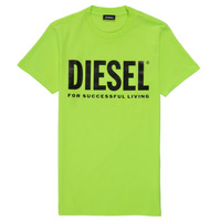 Clothing Children Short-sleeved t-shirts Diesel TJUSTLOGO Green